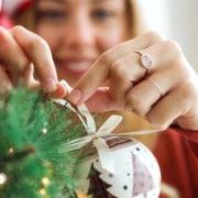 kerstboom kantoor